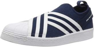 adidas Men's WM Superstar Slip On PK Shoes, Conavy Ftwwht