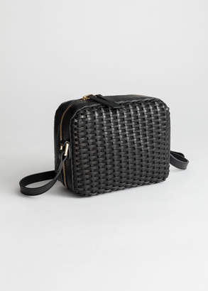And other stories Basket Weave Crossbody Bag d0fac23b879ae