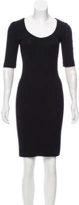 Diane von Furstenberg Raquel Scoop Knee-Length Dress