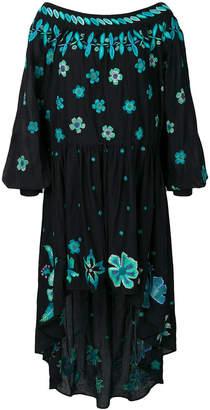 Michel Klein X Mimi Liberté embroidered floral dress