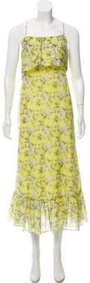Robert Rodriguez Printed Floral Maxi Dress