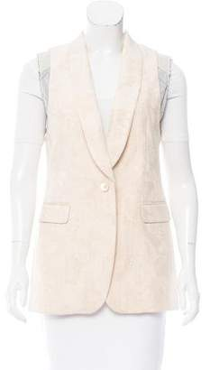 Dries Van Noten Embroidered Jacquard Vest