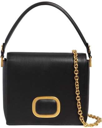 Roger Vivier Square Day Leather Shoulder Bag
