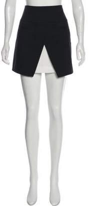 Tibi Split Mini Skirt