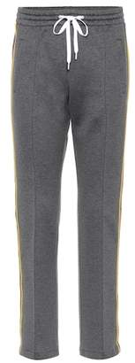 Miu Miu Cotton-blend pants