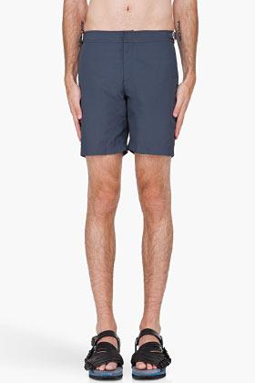 Orlebar Brown Charcoal Bulldog Swim Shorts