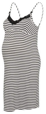 George Maternity Nursing Striped Nightdress
