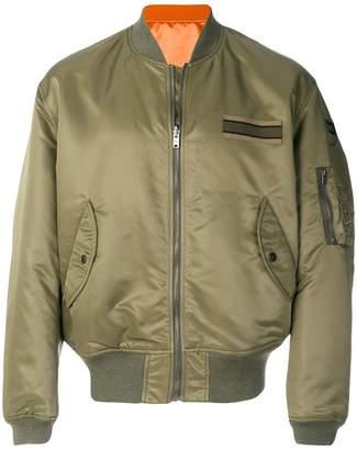 Kent & Curwen sheen bomber jacket