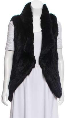 Yves Salomon Knit Fur Vest