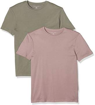 New Look Men's Crew 2 Pack T-Shirt,(Manufacturer Size: 52)