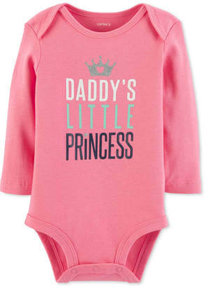 Carter's Baby Girls Little Princess Cotton Bodysuit