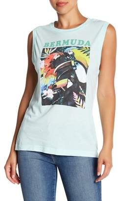 Wildfox Couture Bermuda Vintage Muscle Tank Top