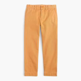 J.Crew Boys' garment-dyed chino pant in slim fit