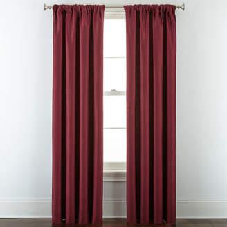 Royal Velvet Supreme Lined Rod-Pocket/Back-Tab Curtain Panel