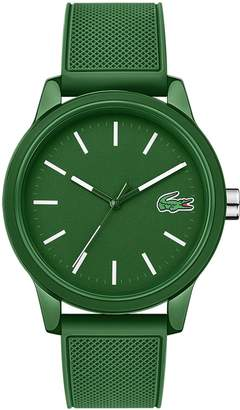 Lacoste Men's 12.12 Watch with Green Silicone Strap