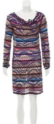 Missoni Long Sleeve Mini Dress