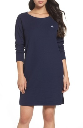 Women's Lauren Ralph Lauren Longline Lounge Sweatshirt $59 thestylecure.com