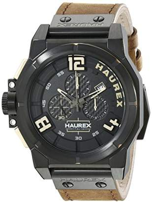 Haurex Italy Men's 6N510UNT Space Chrono Analog Display Quartz Watch