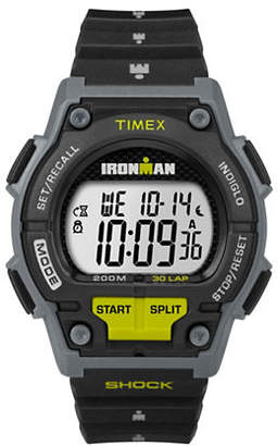 Timex Digital Black Resin Strap Watch