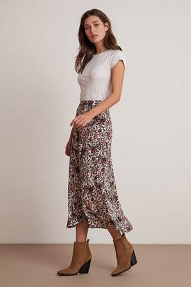 Velvet by Graham & Spencer WILLA FLORAL CHALLIS MIDI SKIRT