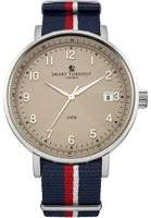 Mens Smart Turnout Scholar Watch Beige Royal Navy Watch STH3/BE/56/W-RN