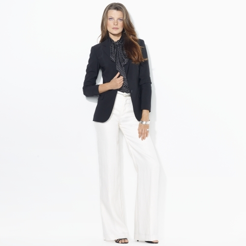 Ralph Lauren Two-Button Wool Blazer