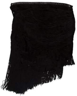 Haute Hippie Silk Mini Skirt w/ Tags Black Silk Mini Skirt w/ Tags