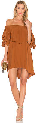 MLM Label Maison Dress in Brown $165 thestylecure.com