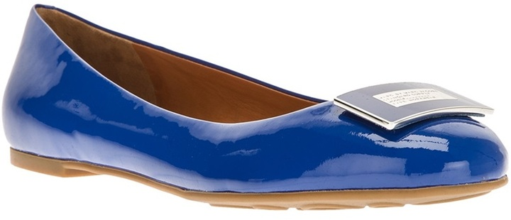 Marc by Marc Jacobs patent ballerina