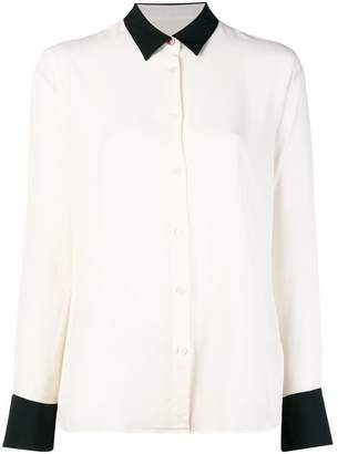 Paul Smith contrast panel shirt