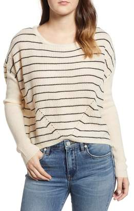 Cotton Emporium Stripe Dolman Sweater
