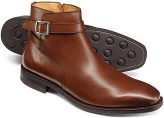Charles Tyrwhitt Tan Jodphur Boots Size 13
