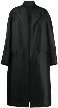 Haider Ackermann open front maxi coat