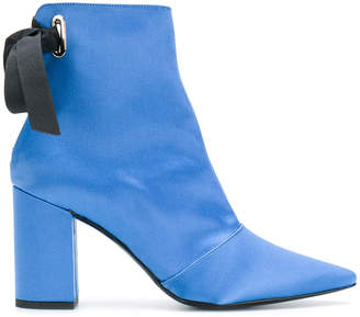 Robert Clergerie x Self Portrait pointed toe boots