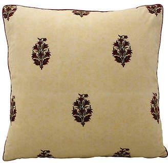 One Kings Lane Vintage Indian Paisley Pillow