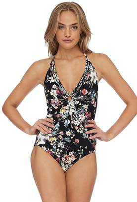 Sunseeker Kyoto Double Ring Halter One Piece