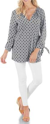 Mud Pie Print Jersey Tunic $44.95 thestylecure.com