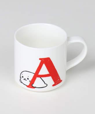 Mother garden しろたん アルファベットマグカップ(C)FDB