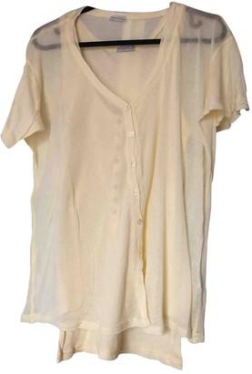 American Vintage Yellow Cotton Knitwear for Women