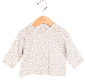 Caramel Baby & Child Girls' Floral Print Long Sleeve Top