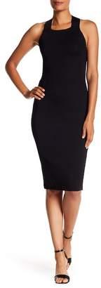Rachel Roy Lace-Up Back Bodycon Dress