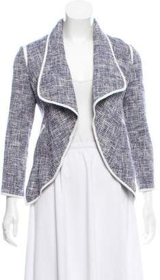 Yigal Azrouel Tweed Open Front Jacket