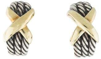 David Yurman X Crossover Earrings