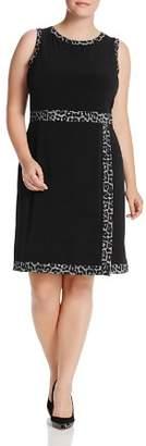 MICHAEL Michael Kors Leopard Faux-Wrap Dress