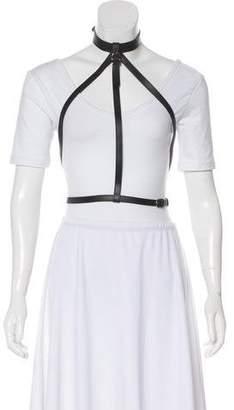 Hermes Leather Harness Belt