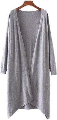 Goodnight Macaroon 'Aiko' Basic Soft Wrap Thin Long Cardigan (3 Colors)