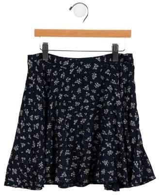 Polo Ralph Lauren Girls' Floral A-Line Skirt