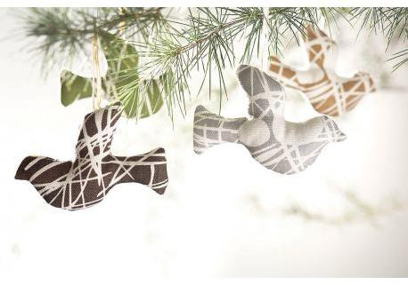 Amenity Holiday Holiday Ornaments - Birds