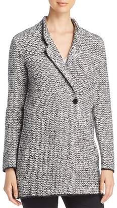 Eileen Fisher Textured Notch Collar Coat