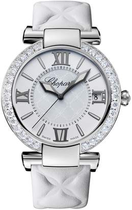 Chopard Stainless Steel and Diamonds Imperiale Watch Automatic 36mm
